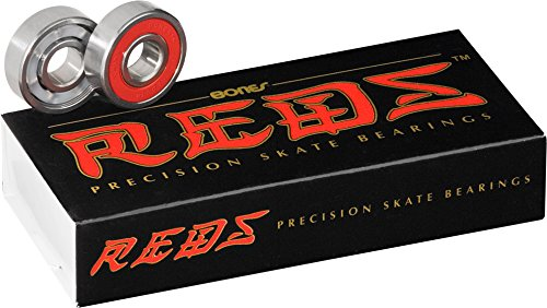 Price comparison product image Bones Bearings REDS Skate Bearings (7mm,  16-Pack)