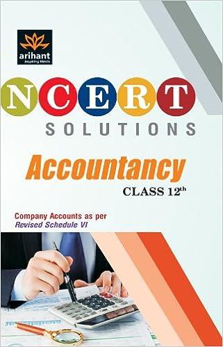 NCERT Solutions: Accountancy (Class - 12) price comparison at Flipkart, Amazon, Crossword, Uread, Bookadda, Landmark, Homeshop18