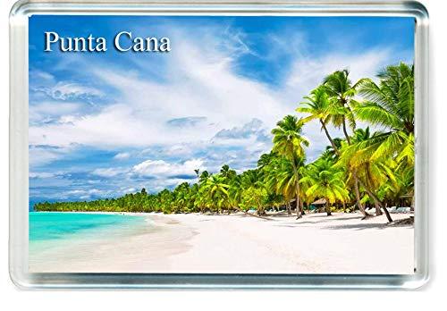 GIFTSTICY D326 Punta Cana Im/án para Nevera The Dominican Republic Travel Fridge Magnet