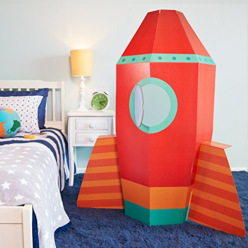 ADVA5700 Solar System Rocket to Space Astronaut Room Decor - Spaceship Cardboard Stand In - Astronaut Stands