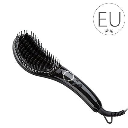 Focus JINRI/JR-803 - Cepillo alisador de Pelo para Mujer y Niña,