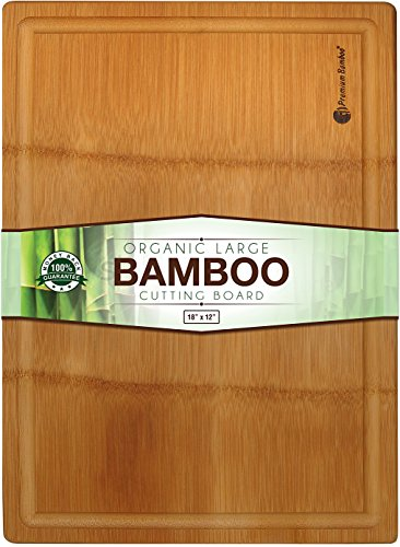 Extra Rolled Bamboo Cutting Groove product image