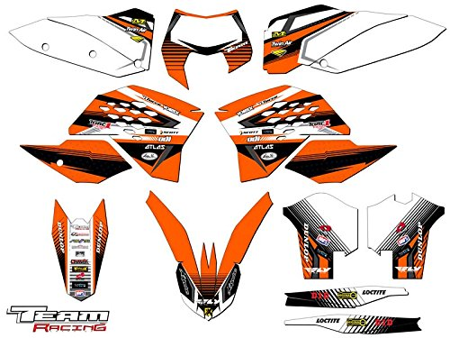 Team Racing Graphics kit for 2008-2011 KTM EXC, ANALOGComplete kit Ktm Exc 2009