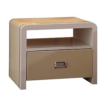 Table de chevet table de chevet élégante chambre moderne avec meuble ...