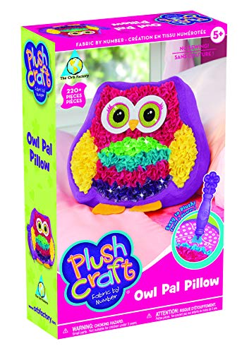 The Orb Factory Plushcraft Owl Pal Pillow - Craft Kit ()