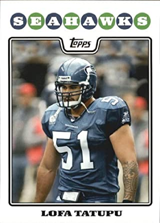 Amazon.com  2008 Topps Football Card  244 Lofa Tatupu Near Mint Mint   Collectibles   Fine Art c417c1dd5