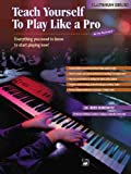 Teach Yourself to Play Like a Pro, Bert Konowitz, 0882849522