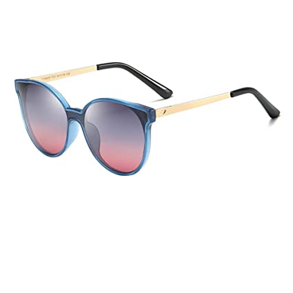 TXWZEI Gafas de Sol polarizadas para niños para niños, niñas y niños de 10 a 12 años de Edad, protección contra Viajes UV L6014,T33GrayRed