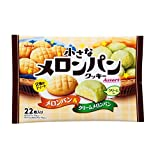 Kabaya Japan small melon bread cookies assortment Melon & cream melon bread 22 pcs x 6 bags