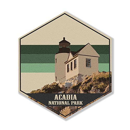 - Printed Marketplace National Park Poster Collection-Canvas Art collection (Acadia National Park)