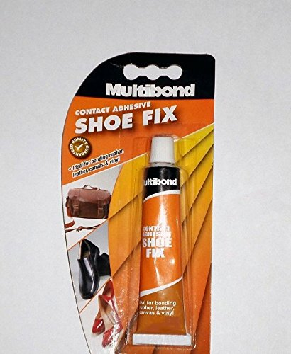 Shoe Fix Repair Contact Adhesive Glue Bonding Rubber, Leather, Canvas, Hardboard, Vinyl & Upholstery (20ml)