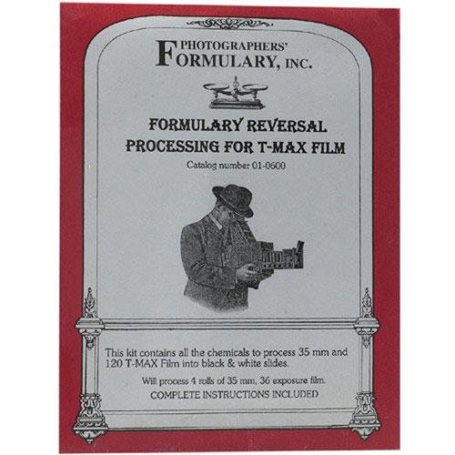 Photographers' Formulary Reversal Process Developer for T-Max Film, Makes 4 Rolls