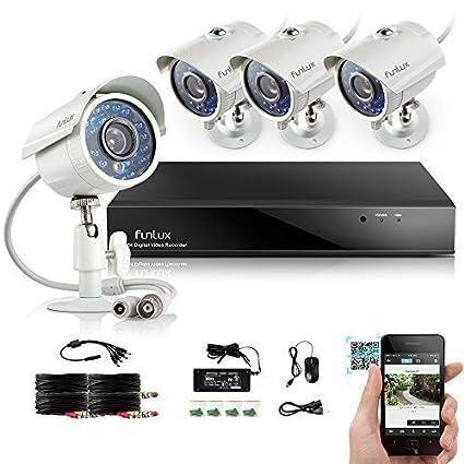 Zmodo sistema de vigilancia de la cámara de seguridad CCTV 8 ch 960 horas DVR con