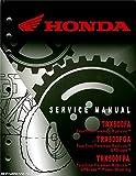 61HN258 Honda TRX500FA FGA Fourtrax Foreman Rubicon GPScape ATV Service Manual 2005-2014