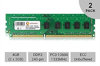 4GB KIT 2 x 2GB HP Compaq ProLiant DL360 G6 G7 DL370 G6 DL380 G7 Ram Memory by CENTERNEX