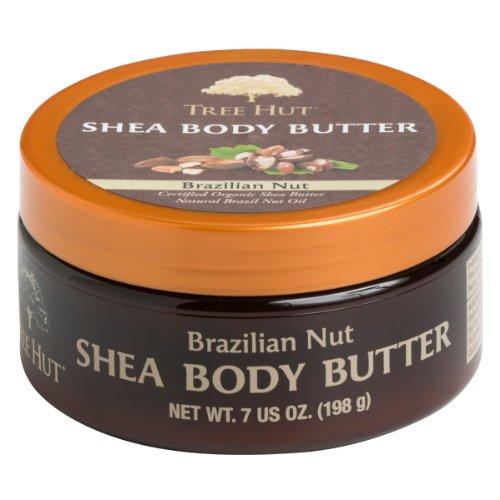 Tree Hut Shea Body Butter, Brazilian Nut, 7-Ounce (Pack of - Hut Online