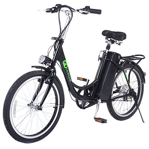 "Goplus 22"" 250W Electric Bicycle Mountain Bike 36V Lithiu..."