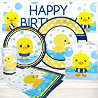 Birthday Direct Rubber Ducky Party Package for 16 Guests
