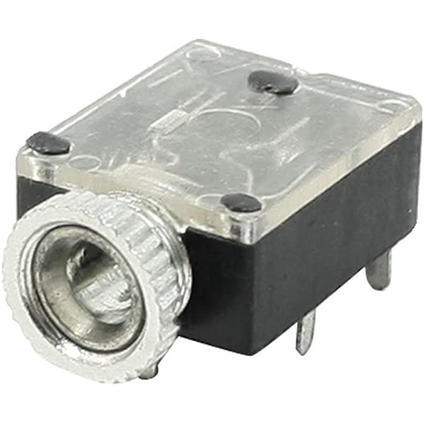 Amazon.com: uxcell PCB Type Panel Mounting 5 Pins 3.5mm Stereo Jack Socket  Audio Connector: ElectronicsAmazon.com