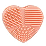 Susenstone Silicone Fashion Egg Cleaning Glove Makeup Washing Brush Scrubber Tool Cleaners (Beige)