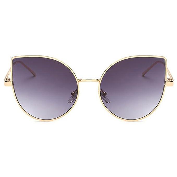 4c41547022a2a RazMaz Cat Eye Shades Fashion Oversize Grey Gradient Women s Sunglasses