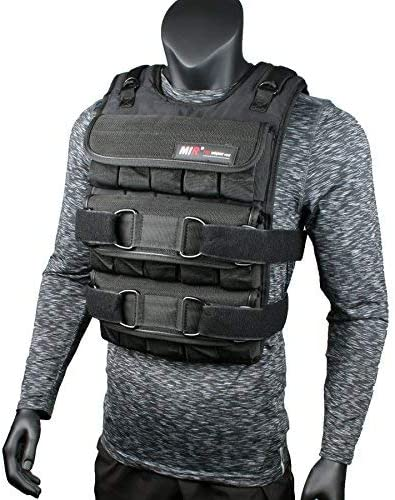 miR Adjustable Weighted Vest 45lbs – 140lbs PRO Vest ONLY
