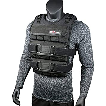 Mir Adjustable Weighted Vest 45lbs – 140lbs