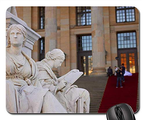- SYMSPAD Mouse Pad 8.6 X 7.1 in - Schiller Monument Concert House Berlin Germany