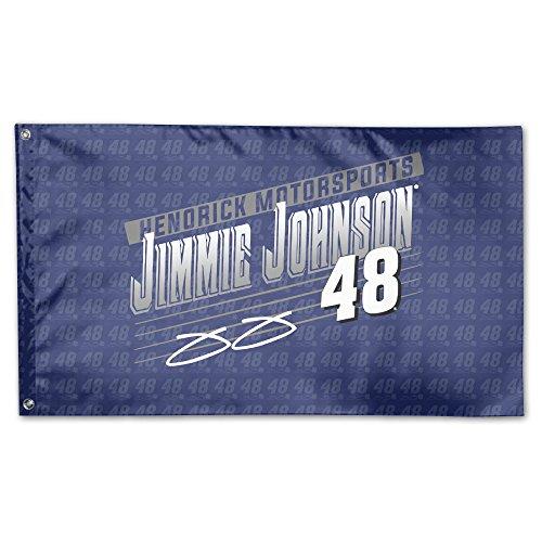 Jimmie Johnson Royal Crank Shaft Garden Flag 3' X 5' Single-Sided Garden Flag