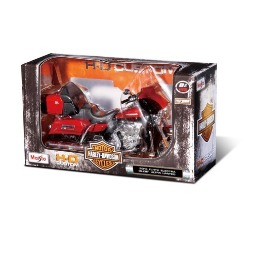 Tobar 1:12 Scale Harley Davidson Assorted Motorcycles by Maisto [並行輸入品] B017E4XTZ2