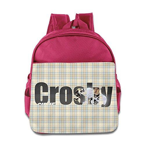 VOLTE Hockey Player Pink Backpack Bag For Children School Travel Schoolbag