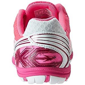 Saucony Women's Kilkenny XC5 Flat Cross Country Flat Shoe,White/Vizi Pink,9.5 M US
