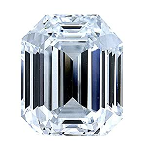 3.03 Ct. | Emerald Cut | D Color | IF Clarity | U.S. Man Made Diamond