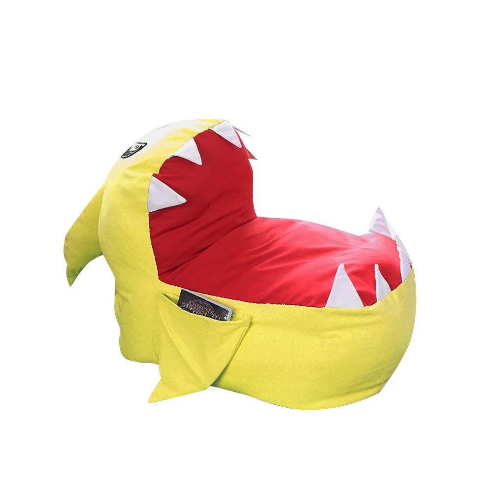Chaise de Rangement pour Animaux en Peluche pour Enfants Adolescents et Adultes Feiledi Trade Sac de Rangement en Peluche pour Enfants Original Requin Sac en Peluche canap/é Paresseux Chaise b/éb/é