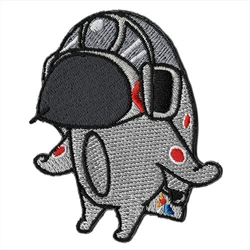 自衛隊グッズ 選べる4タイプ 貼れるワッペン ファントムおじいちゃん コレクション (302オジロ)