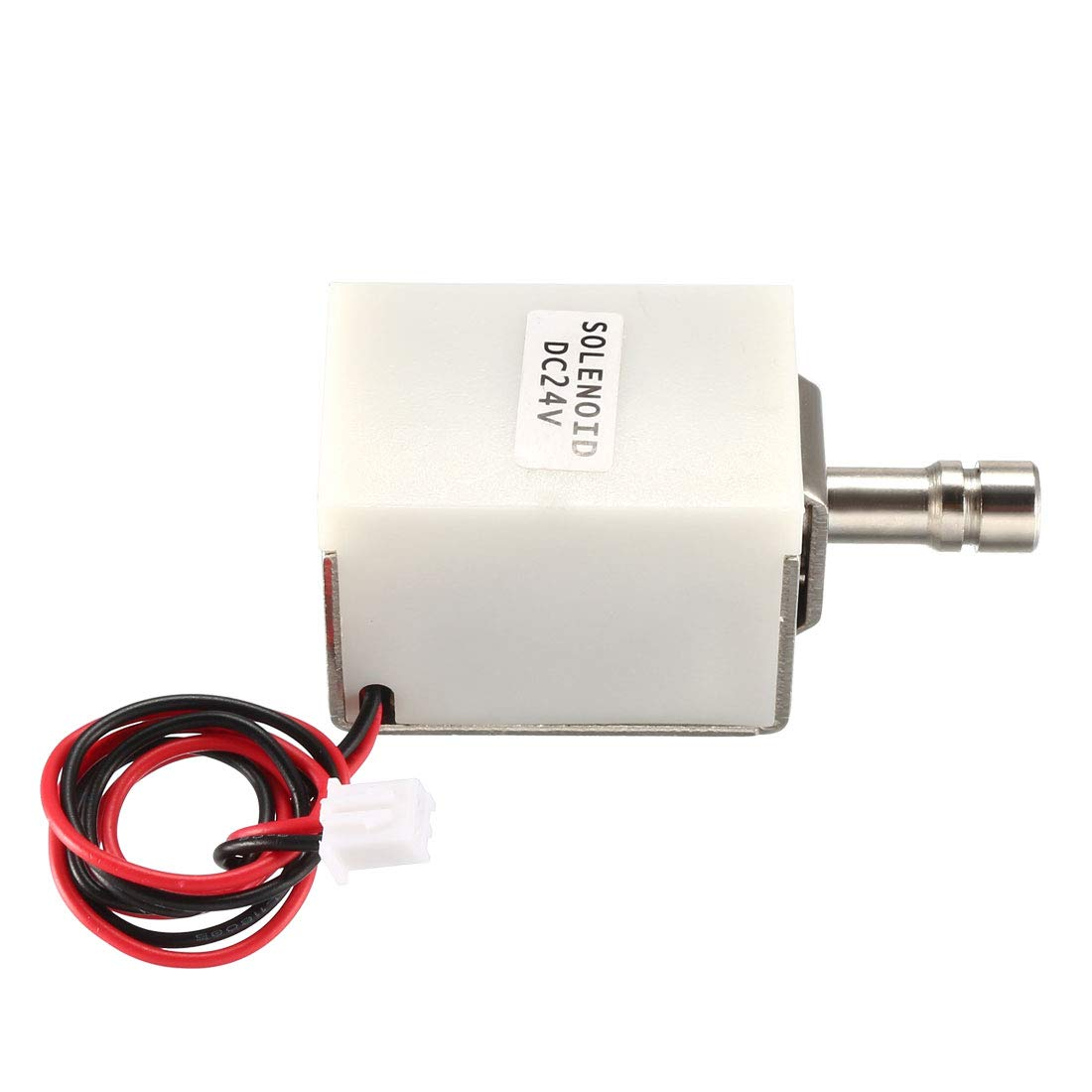 uxcell DC 24V 1A 9.6mm Electromagnetic Solenoid Lock Push Pull Type for Electirc Door Lock