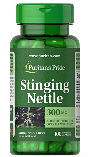 Puritan's Pride Stinging Nettle 300 mg-100 Capsules For Sale