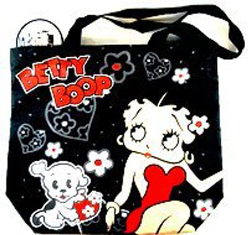 Price comparison product image Black Betty Boop and Bimbo Zip Up Tote Bag