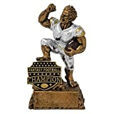 Best Fantasy Football Leagues - Pants Down Monster Trophy - Engraved Plates Review