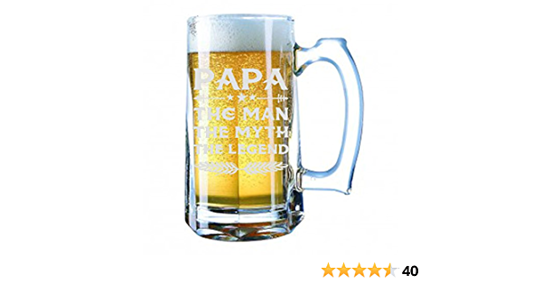 82nd Birthday Beer Stein Mug Glass Cup 82 Eighty Two Second 1939 Funny Gift For Men Him Dad Great Grandpa Male Guy Bday Ideas Present C-17K