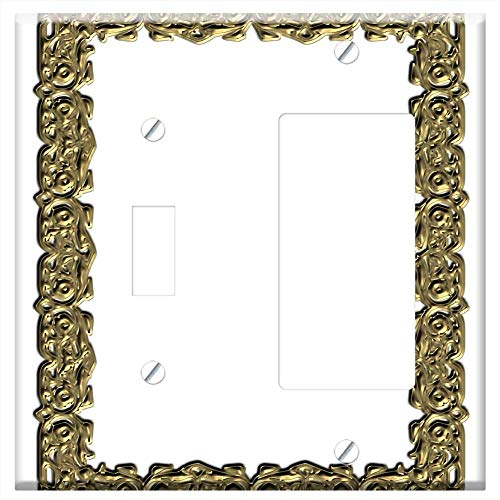 1-Toggle 1-Rocker/GFCI Combination Wall Plate Cover - Frame Photo Frame Template Photoshop 4