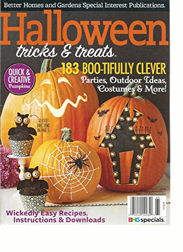 HALLOWEEN TRICKS & TREATS MAGAZINE, 2016 183 BOO-TIFULLY CLEVER, PARTIES ()