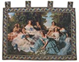 DaDa Bedding WH-11630 Classic French Rococo Woven Tapestry Wall Hanging, 36 by 50-Inch
