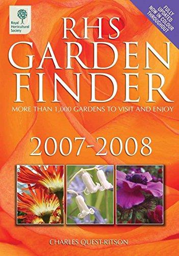 RHS Garden Finder 2007-2008 (Rhs Garden Finder (Royal Horticultural (Royal Quest Halloween)