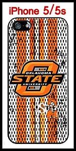 NCAA Oklahoma State University NCAA Oklahoma State Cowboys Case for iPhone 5 5s Case Hard Silicone Case