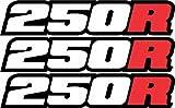 honda 110 atc stickers - Honda 250r Decal 2-stroke Cr Atc Trx 250 R Cr250r Dirtbike ATV Quad Racing Mx