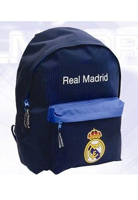 Mochila REAL MADRID 40x30x15 cms - Bolsillo delantero
