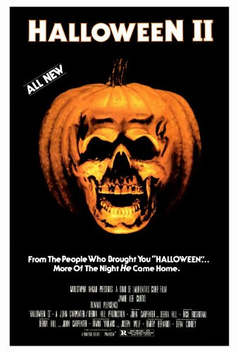 (Halloween 2: The Nightmare Isn't Over! Movie Poster (27 x 40 Inches - 69cm x 102cm) (1981) -(Jamie Lee Curtis)(Donald Pleasence)(Jeffrey Kramer)(Charles Cyphers)(Lance)