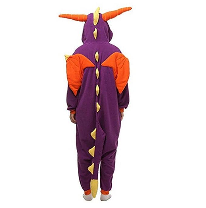 Kenmont Unicornio Juguetes y Juegos Animal Ropa de Dormir Cosplay Disfraces Pijamas para Adulto Niños (X-Large, Purple Dinosaurs): Amazon.es: Juguetes y ...