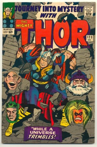 "Journey into Mystery with The Mighty Thor #123, 1965 (""While a Universe Trembles!"", Volume 1)"